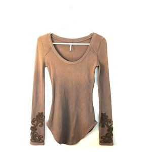 Free People Long Sleeved Shirt, Size S